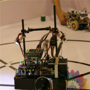 韩博士机器人教育汽车