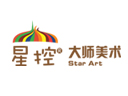 星控大师少儿美术品牌logo