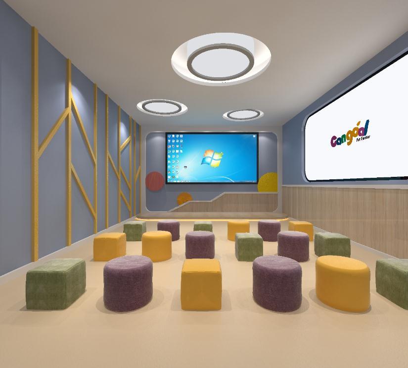 晶橙国际艺术教育室内1