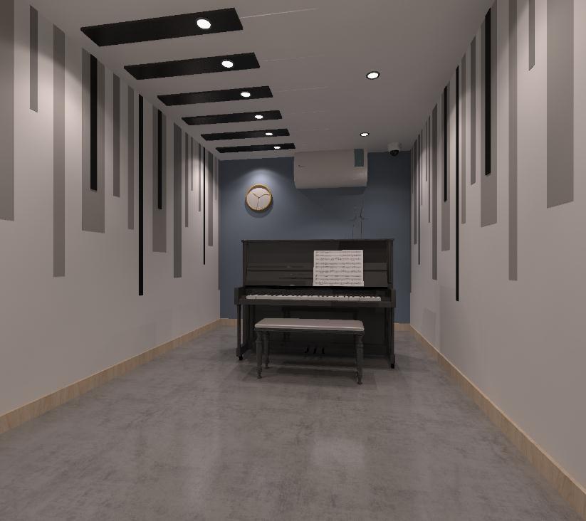 晶橙国际艺术教育室内2