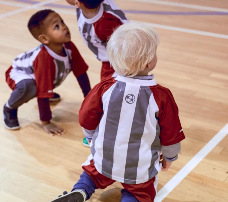 球小星欢动足球学员6