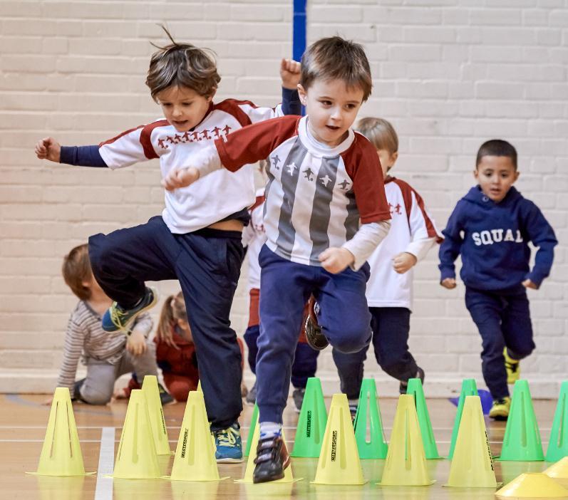 球小星欢动足球学员10