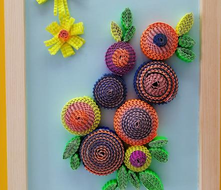 萌卡納兒童繪本教育館花簇