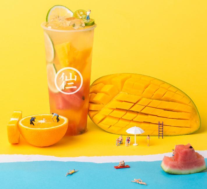 仙仁嫩仙草奶茶产品3