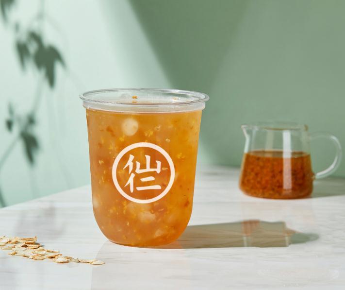 仙仁嫩仙草奶茶产品4
