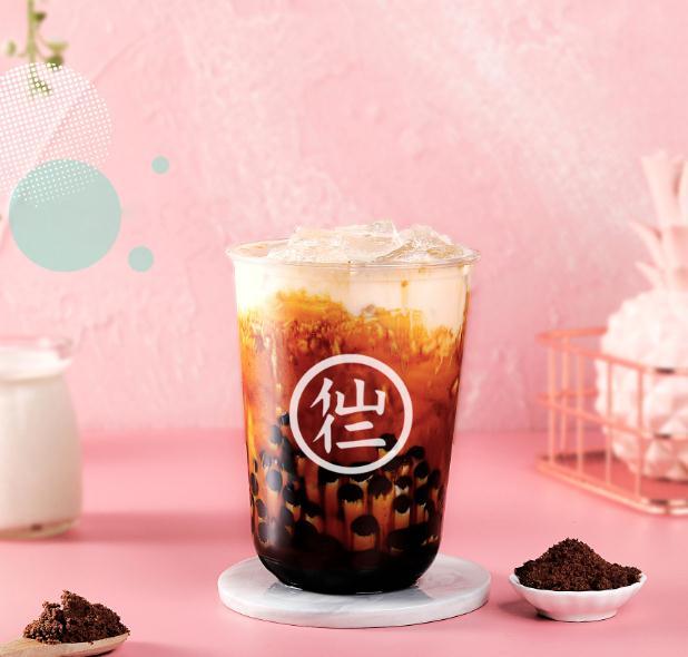 仙仁嫩仙草奶茶产品5