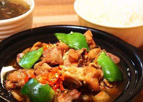 白香米黄焖鸡