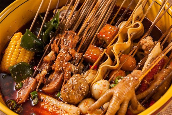 食止冷锅串串各种串