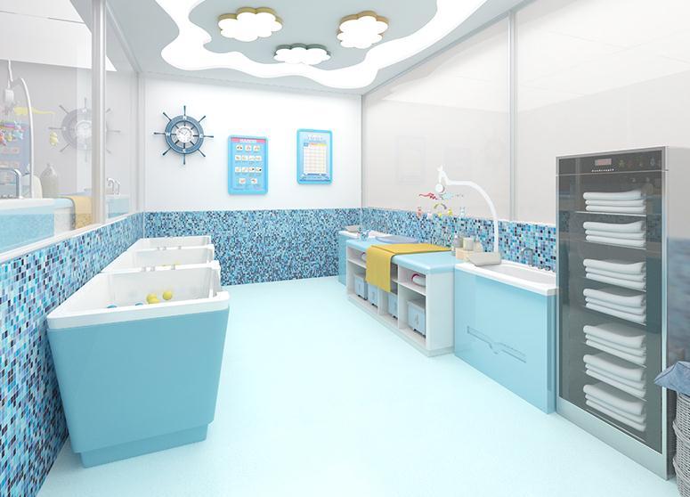 Cai.s Holley婴儿游泳馆洗浴间