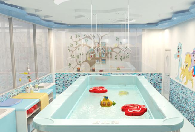 Cai.s Holley婴儿游泳馆泳池