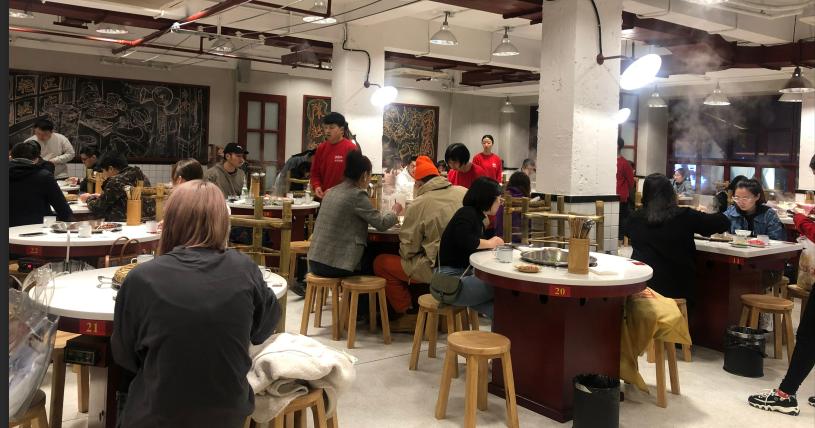 陳艷紅市井火鍋食客