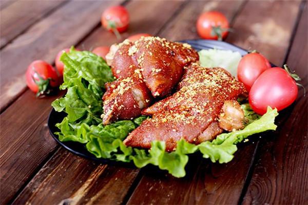 孫麗麗烤豬蹄產品