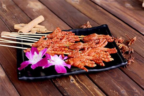 孫麗麗烤豬蹄串串