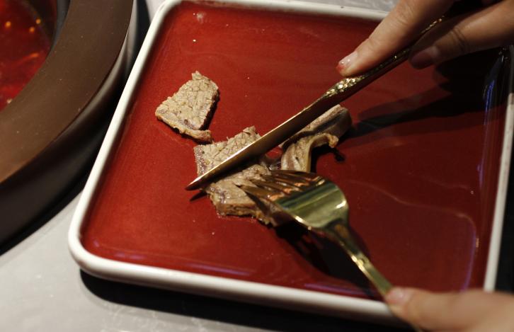 叉图牛排火锅餐品