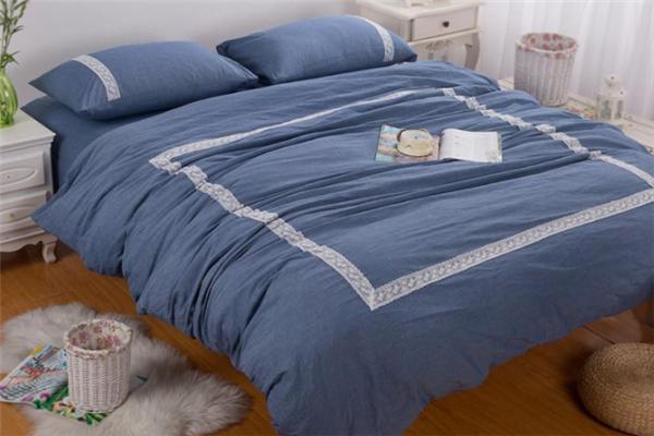 寐牌床上用品灰色