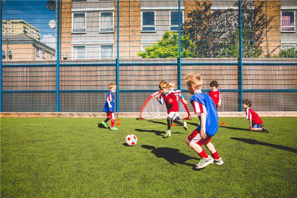 球小星欢动足球活动