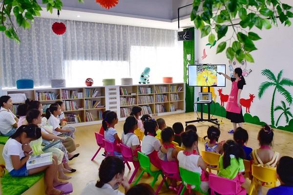 萌卡納兒童繪本教育館課堂