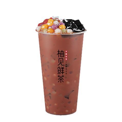 柚见鲜茶产品1
