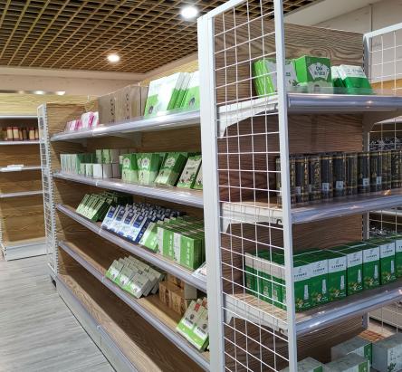 七禾艾草健康超市整洁