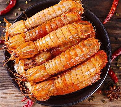 虾客食光香辣皮皮虾