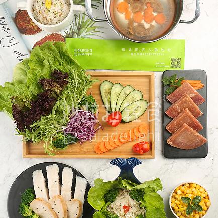 沙拉拉輕食營養均衡
