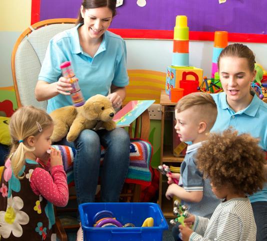 京华和木幼儿园教室
