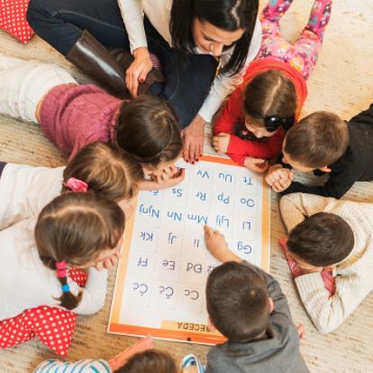 京华和木幼儿园识字
