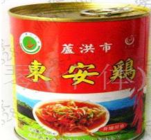东安鸡罐头食品