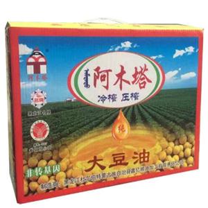 阿木塔牌大豆油