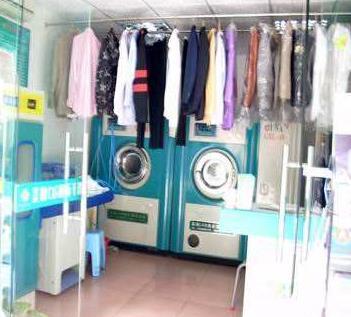 优萨干洗设备洗衣店