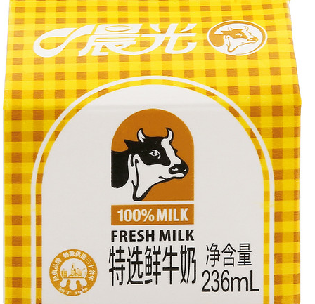 晨光纯鲜牛奶