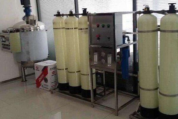 艾女士洗衣液生产设备
