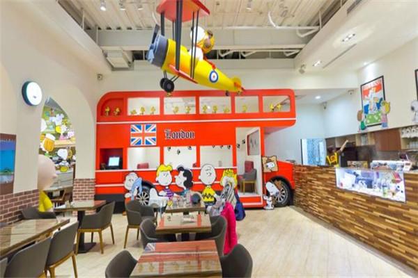 hello猴子儿童餐厅特色主题环境