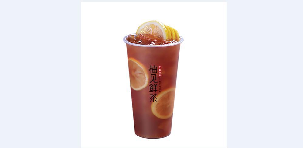 柚见鲜茶产品