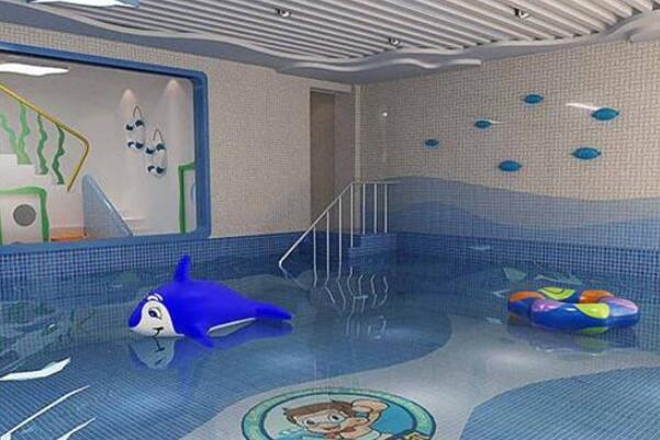 海斯威国际亲子游泳展示