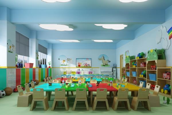 北大实验副属幼儿园教室环境