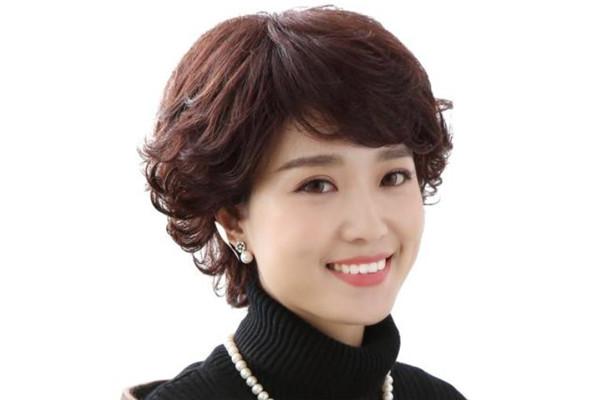 瑞呗卡假发短发