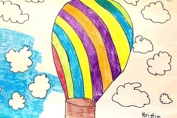斯马特儿童美术热气球