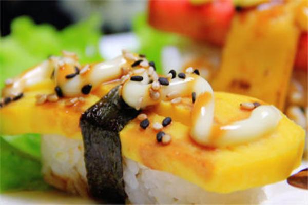 镜寿司料理