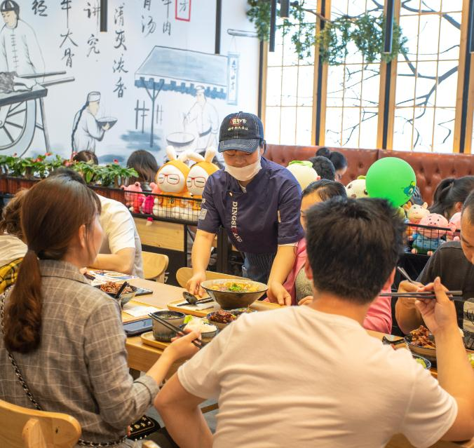 鼎四方鲜牛肉大骨汤门店4