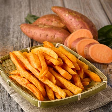 小薯甜甜紅薯條