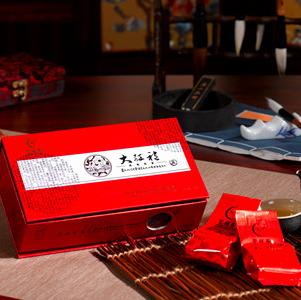 聚祥春茗茶的大红袍的包装