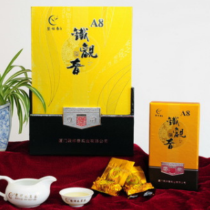 聚祥春茗茶的铁观音的包装