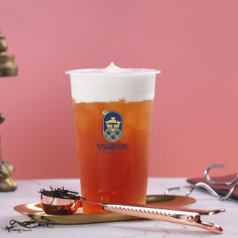 皇品嘟茶院奶茶饮品红玉