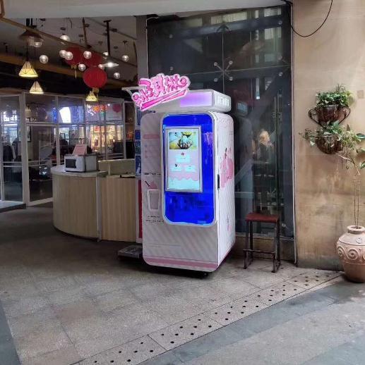 优味冰淇淋机排队5