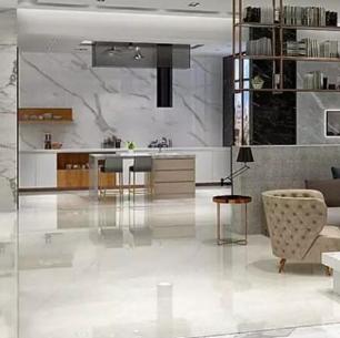 依诺陶瓷的贴在客厅的效果