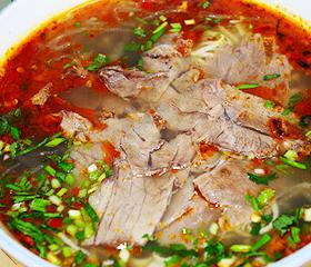 六大将牛肉汤辣汤