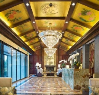 金螳螂建筑装饰走廊