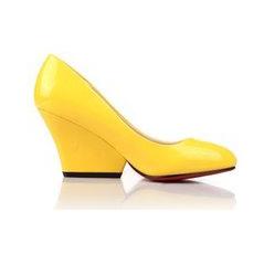 卡芙琳女鞋黄