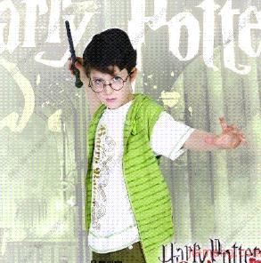 哈利波特童鞋装扮